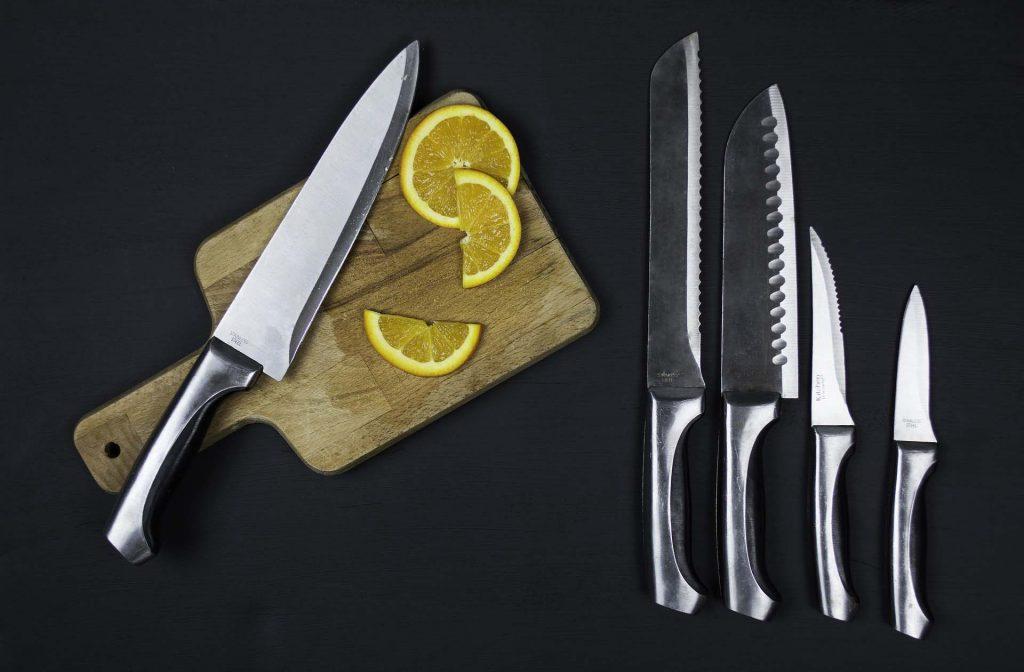 como afilar un cuchillo