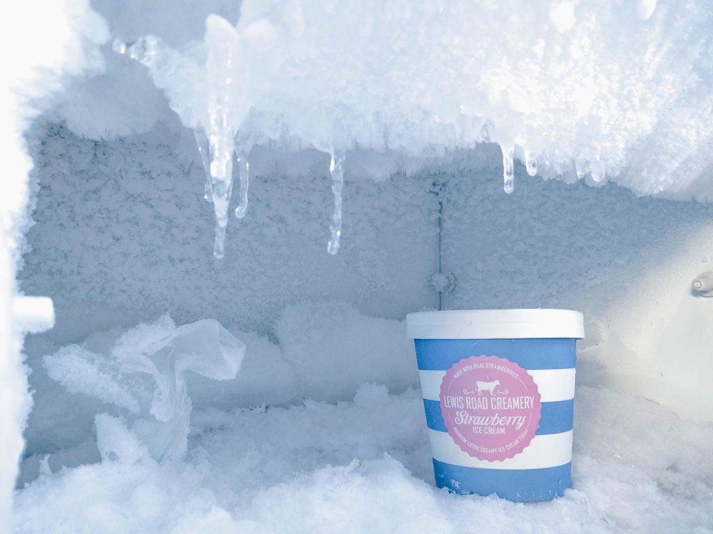congelador horizontal industrial