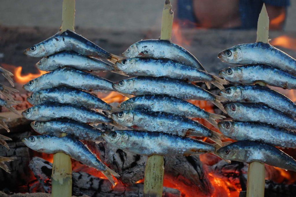 origen espeto de sardinas