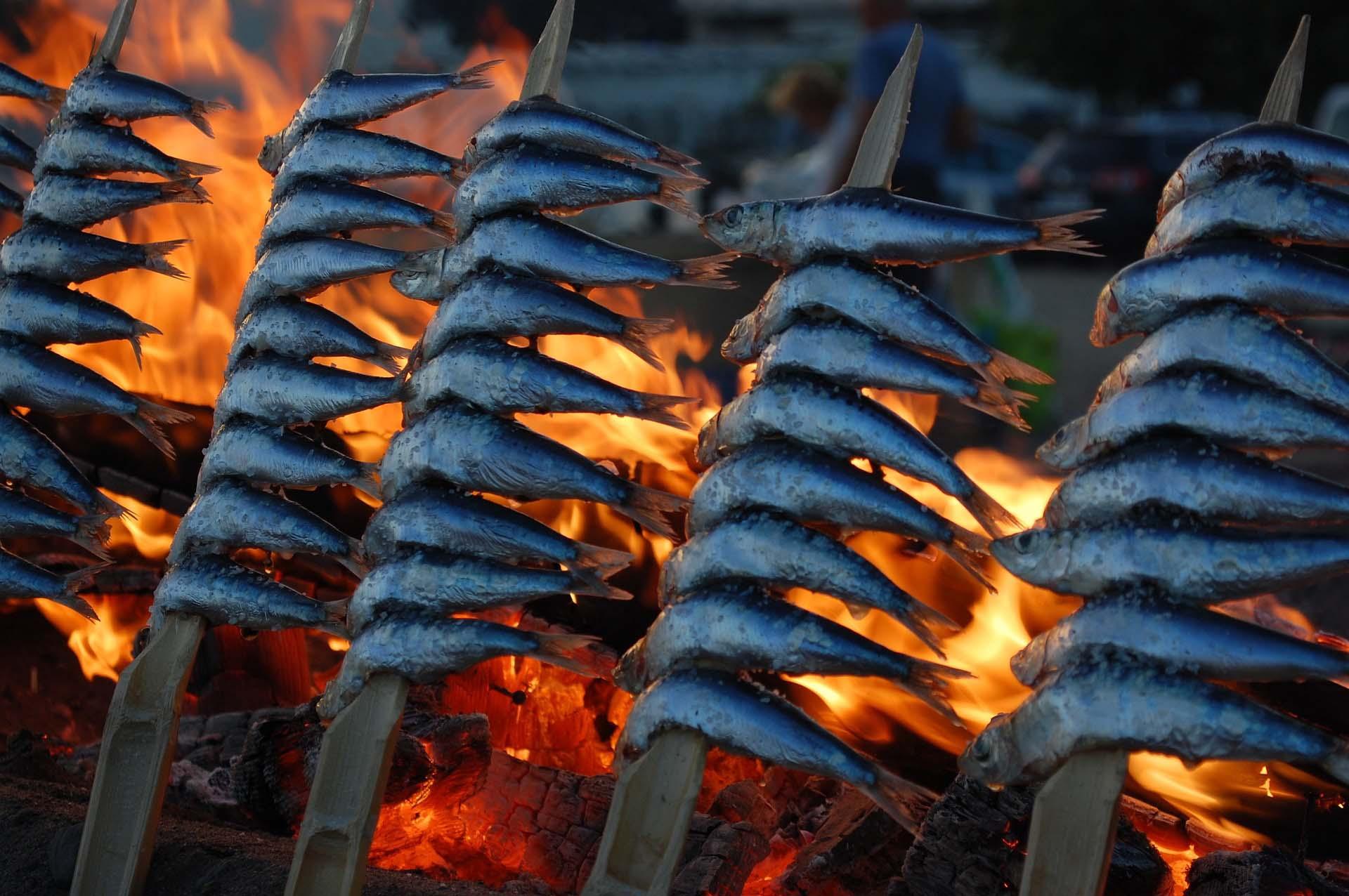 origen sardinas al espeto